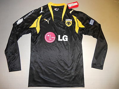 player Jersey AEK Athen LS Home 07/08 Orig. Puma Size S L XL player issue