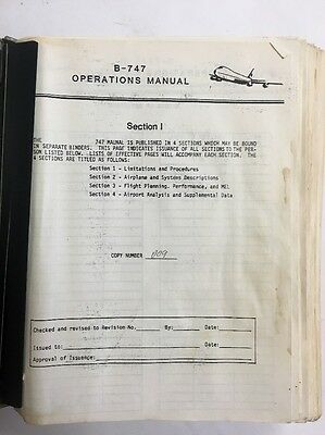 B747 Air Hawaii Original Operations Manual