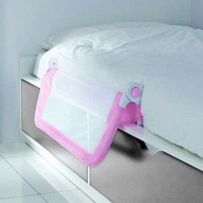 Lindam Easy Fit Bed Guard (Pink) Toddler Bed Safety Rail