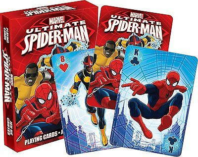 Spiderman Youth set of 52 playing cards (+ jokers) (nm 52353)