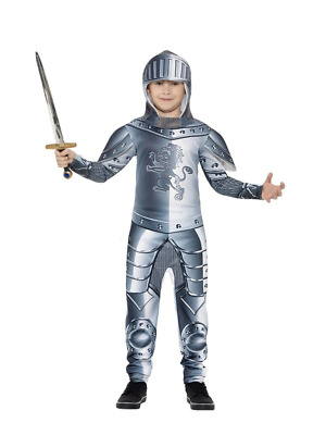 Deluxe Armoured Knight Costume Smiffys Fancy Dress Costume