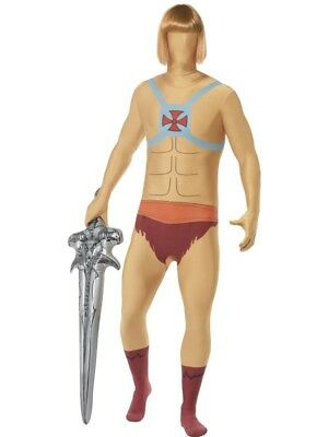 He-Man Second Skin u0026 Inflatable Sword Smiffys Fancy Dress Costume  sc 1 st  PicClick UK & HE-MAN SECOND SKIN u0026 Inflatable Sword Smiffys Fancy Dress Costume ...
