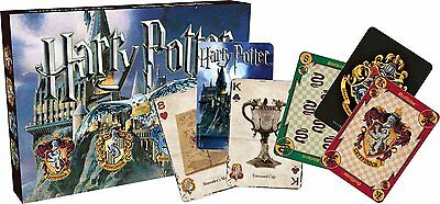 Harry Potter double set of 52 playing cards (+ jokers) (nm 104901)