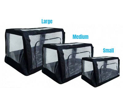 ICU Buster Cage, Medium 24 x 18 x 18 in Collapsible Oxygen Delivery Tent, JorVet