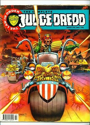 •.•  COMPLETE JUDGE DREDD • Issue 6 • Fleetway