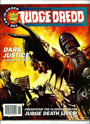 <•.•> COMPLETE JUDGE DREDD • Issue 22 • Fleetway