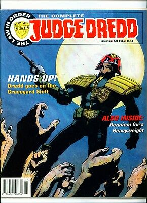 <•.•> COMPLETE JUDGE DREDD • Issue 33 • Fleetway