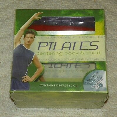 Pilates: Centering Body & Mind W/book, Dvd, & Resistance Band
