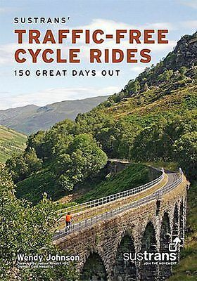 Sustrans Traffic Free Cycle Rides Great Book for fun days out cycling all UK