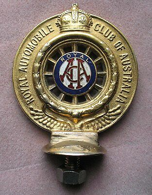 Royal Automobile Association of Australia Early Badge Unknown Finish