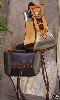 "Custom 4"" Wide Bell Stirrups, For Saddle, Personalized With Your Initials! G&E"