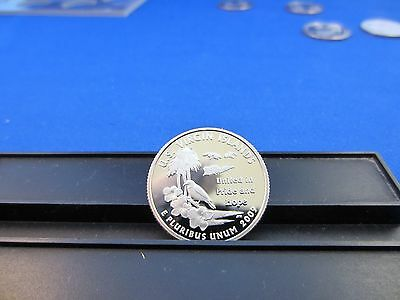 2009-S Silver Quarter US Virgin Islands Deep Cameo Mirror Proof Upper Grade Rge