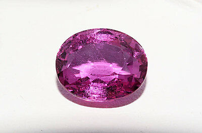 $28,000 5.03Ct AGL Certified Natural Oval Cut Loose Pink Sapphire