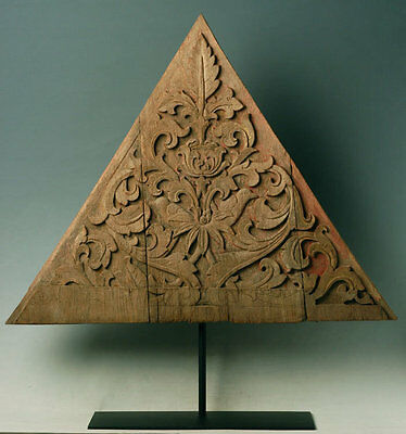 19th Century, Antique Thai Wood Carving