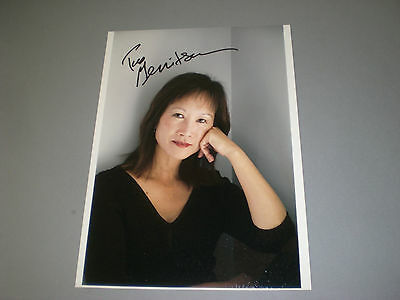 Tess Gerritsen  Rizzoli & Isles signed autograph Autogramm 8x11 photo in person