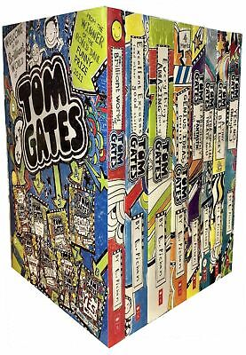 Liz Pichon Tom Gates Collection 8 Books Set Yes! No (maybe),A Tiny Bit Lucky NEW