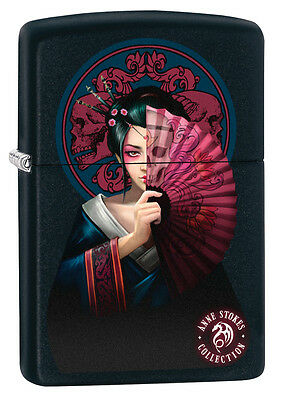 ZIPPO Anne Stokes Mystical Japanese Woman Special Edition winter 2017 lighter
