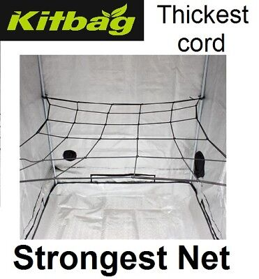 WEBIT 1.2M PLANT SUPPORT SCROG NET FOR GROW TENT 120x120CM HYDROPONICS GROWTENT
