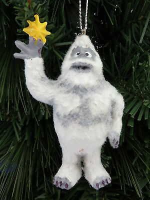 New Bumble Abominable Christmas Ornament Flocked Rudolph Reindeer Dept 56