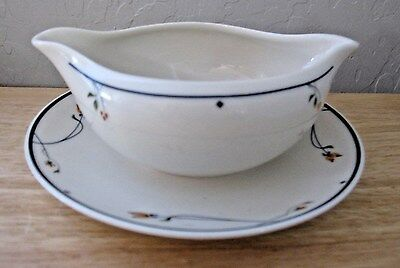 Gorham Ariana Gravy Boat With Attached Underplate
