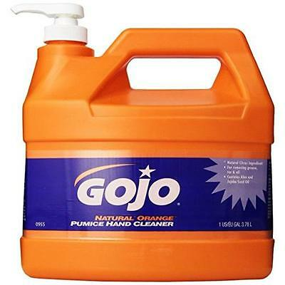 Gojo 0955 Natural Orange Pumice Hand Cleaner - 1 Gallon New