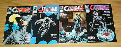 Catwoman #1-4 VF/NM complete series - dc comics 2 3 set lot batman first mini