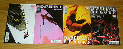 Daredevil: Reborn #1-4 VF/NM complete series - andy diggle - after shadowland