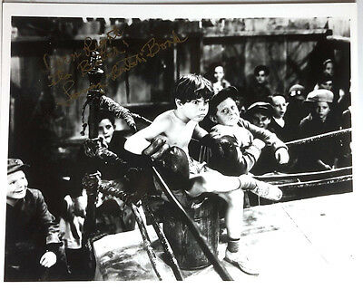 """OUR GANG Autograph 8x10 Photo signed by Larry """"Butch"""" Boyd- (LHAU-772)"""