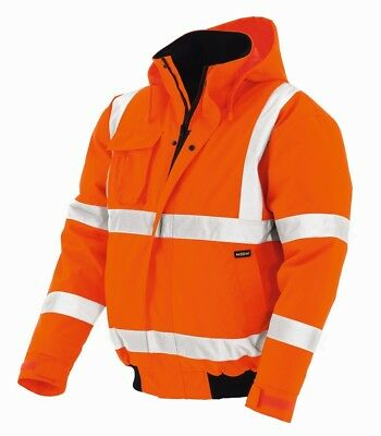 "Warning Protection Pilot Jacket "" Whistler "", Bright Orange"