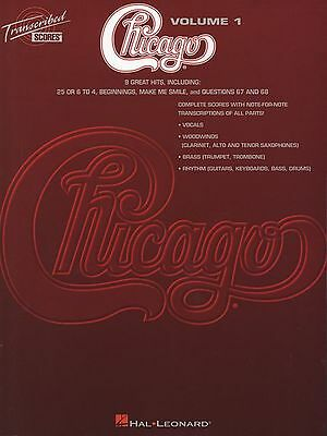 Chicago Transcribed Scores Volume 1 Song Book New