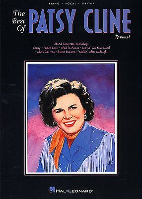 Patsy Cline - Piano - Vocal - Guitar Music Song Book