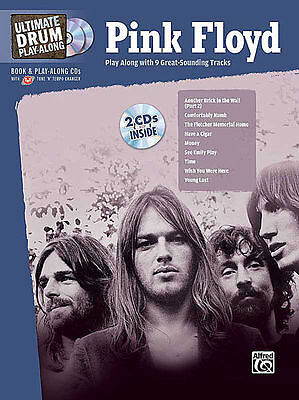 Pink Floyd Drum Play Along Song Book + Cd New