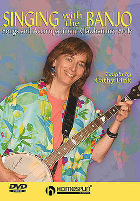 Singing With The Banjo - Cathy Fink *new* Dvd