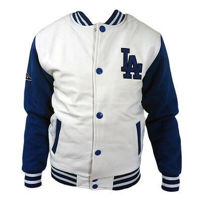 Majestic Letterman Los Angeles Dodgers Sports Jacket sz. XXL Baseball