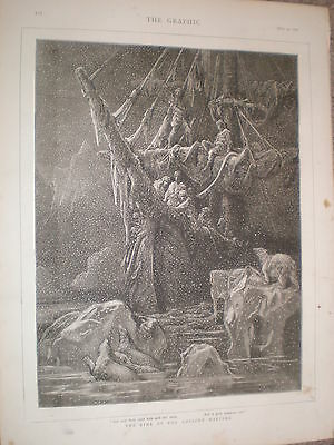 The Rime of the Ancient Mariner 1876 print ref V