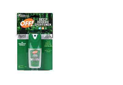 OFF! Deep Woods Sportsmen Insect Repellent Mini Pump 1 ounce