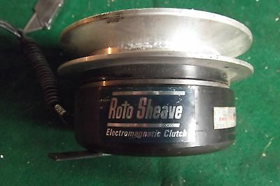 "New Stearns Usa Electromagnetic Clutch 5"" Dia. 1"" Hole 90 Volt Dc."