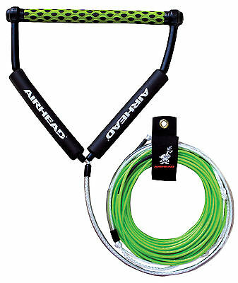 Airhead Spectra Thermal Waterski Wakeboard Ski Rope 4 Section 70' c/w rope tidy