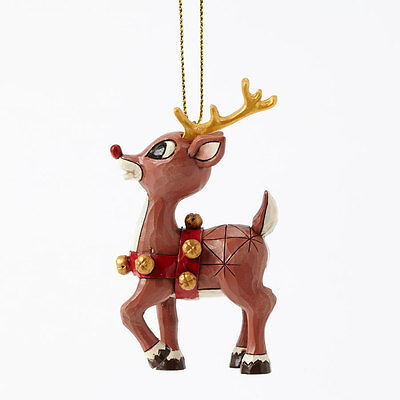 Rudolph With Gold Accents Ornament