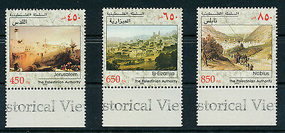 Palestine Authority 2002 Sites Set Of Stamps With Tabs Mnh