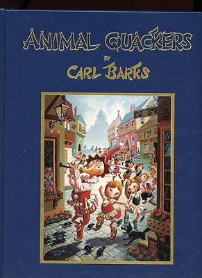ANIMAL QUACKERS by CARL BARKS HC HARDCOVER SIGNED #379/500 #cs-1748