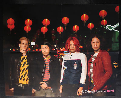 Finnish Demi My Chemical Romance Poster Finland
