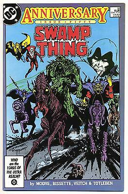 SWAMP THING #50 VF, Giant, Alan Moore script, DC Comics 1986
