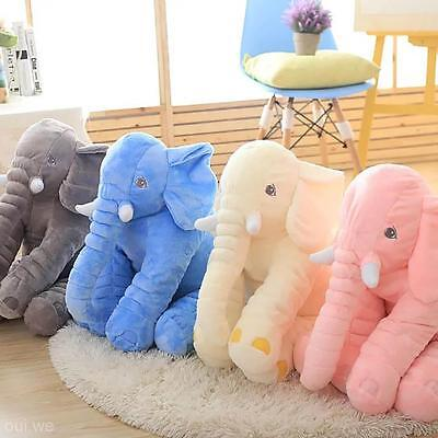 Baby Children Long Nose Elephant Calm Doll Pillow Cushion Soft Plush Stuffed Toy