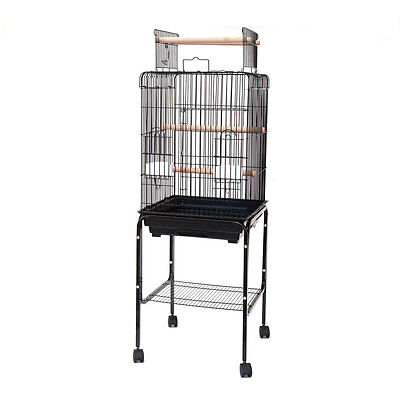 Playtop Parrot Bird Cage with Stand 81809 47x47x138cm