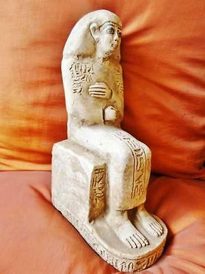 Unique Large Antique Egyptian Statue of Ancient Queen Merit-Amun