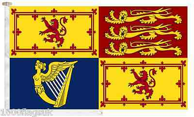 Scotland Royal Standard Roped & Toggled 2 Yard Boat Flag