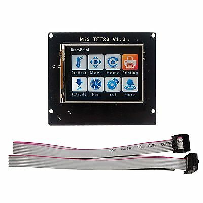 2.8''Touch Screen LCD for 3D Printer  MKS TFT28 V1.3  Full Color Free shipping