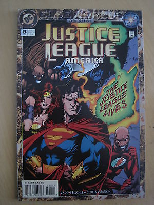 JUSTICE LEAGUE of AMERICA ANNUAL 8. ELSEWORLDS. DC. 1994