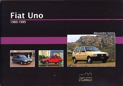 Fiat Uno including Turbo and Innocenti 1983-1995 - great history book